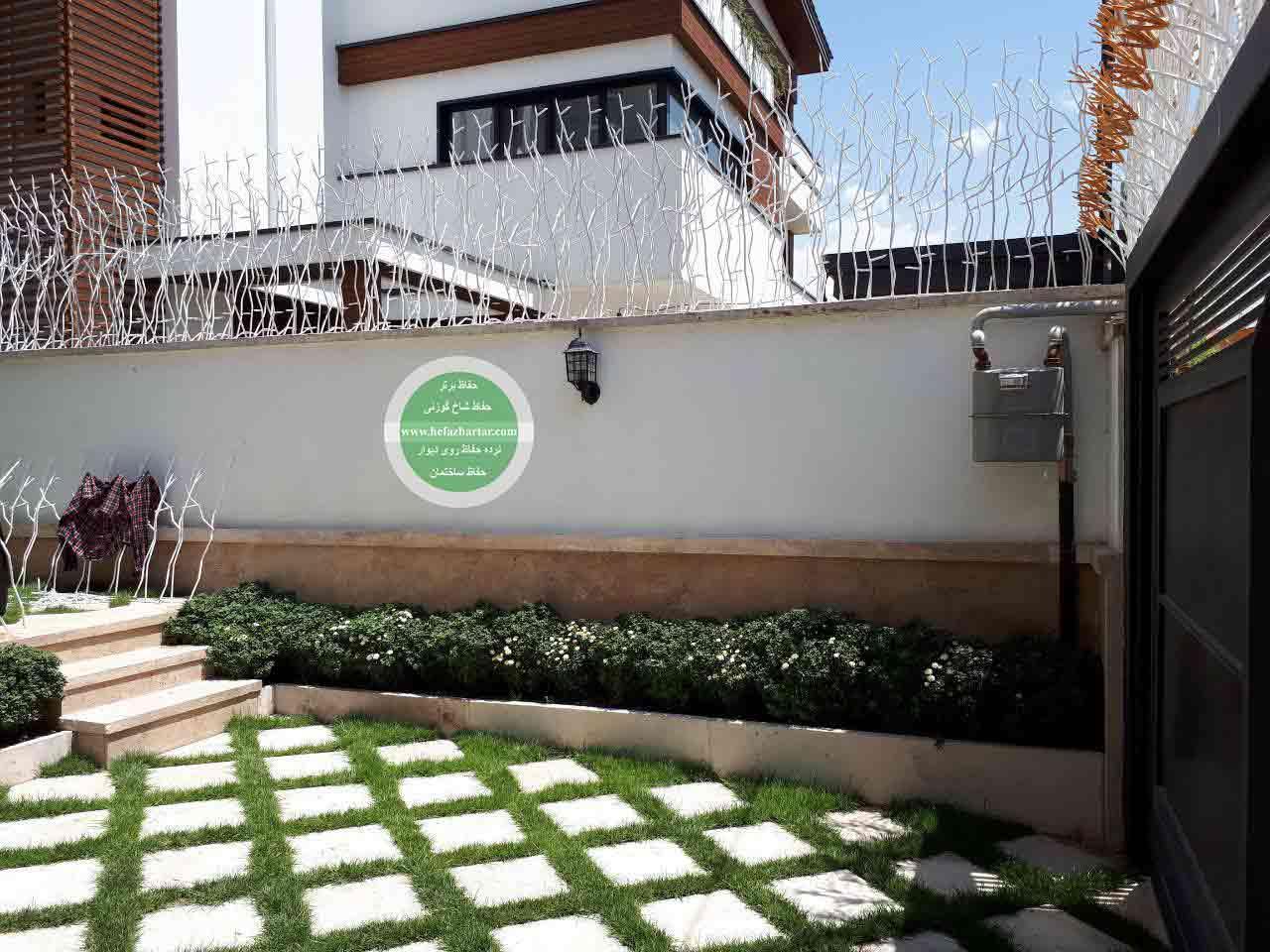 حفاظ روی دیوار ، حفاظ شاخ گوزنی